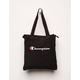 CHAMPION Shuffle Shopper Black Tote Bag