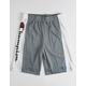 CHAMPION Heritage Script Concrete Boys Shorts