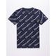 CHAMPION AOP Open Script Boys T-Shirt