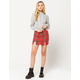 FULL TILT Plaid Mini Skirt