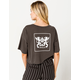 RVCA Modern Crest Womens Crop Tee
