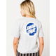 SANTA CRUZ Dot Reflection Womens Crop Tee