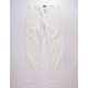 RVCA Week-End Stretch White Mens Pants