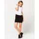 CHAMPION Black Mini Skirt