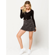 IVY & MAIN Dot Print Mini Skirt