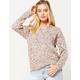SKY AND SPARROW Popcorn Stitch Womens Sweater