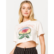 RIPPLE JUNCTION Grateful Dead Rose Womens Crop Tee