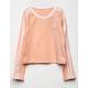 ADIDAS Originals 3-Stripes Peach Girls Tee