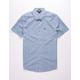 VOLCOM Newmark Light Blue Mens Shirt