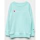 CHAMPION Raglan Mint Girls Sweatshirt