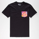 HURLEY Flammo Pocket Mens T-Shirt