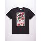 ADIDAS Roses Boxed Logo Mens T-Shirt