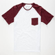 HURLEY React Mens Pocket Tee