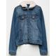 CI SONO Sherpa Collar Girls Denim Jacket