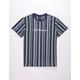 HUF Del Mar Stripe Mens T-Shirt