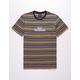 HUF Colorado Stripe Mens T-Shirt