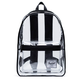 HERSCHEL SUPPLY CO. Classic XL Clear and Black Backpack