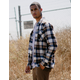 COASTAL Wagon Wheel Mens Flannel Shirt