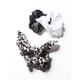 FULL TILT 3 Pack Leopard & Solid Bow Scrunchies