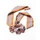 FULL TILT Multi Stripe Bow Pony Scrunchie