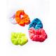 FULL TILT 5 Pack Bright Neon Scrunchies