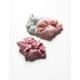 FULL TILT 3 Piece Ribbed Scrunchies
