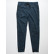BROOKLYN CLOTH Intertech Tape & Zip Mens Ocean Jogger Pants