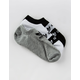 ADIDAS 3 Pack Stacked Forum Multi Womens No Show Socks