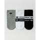 ADIDAS 3 Pack Originals Stacked Forum Womens No Show Socks