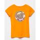 SANTA CRUZ Dot Fade Orange Girls Tee