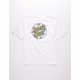 SANTA CRUZ Plumeria Dot Boys T-Shirt