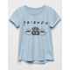 FRIENDS Logo Central Perk Girls T-Shirt
