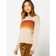 COCO & JAIMESON Chest Stripe Womens Sweater