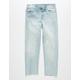 REWASH Straight Crop Girls Denim Jeans