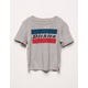 DICKIES 2 Bar Logo Girls T-Shirt