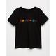 FRIENDS Color Logo Girls T-Shirt