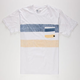 QUIKSILVER This Morning Mens Pocket Tee