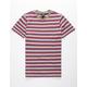 VOLCOM Baywood Stripe Plum Boys T-Shirt