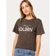 LIRA Stay Golden Womens Crop Tee