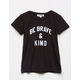 SUB_URBAN RIOT Be Brave & Kind Girls T-Shirt