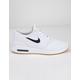 NIKE SB Air Max Stefan Janoski 2 White & Gum Light Shoes