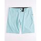 NITROUS BLACK Format Aqua Mens Hybrid Shorts