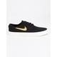 NIKE SB Zoom Stefan Janoski Canvas RM Black & Club Gold Shoes