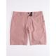 NITROUS BLACK Format Brick Mens Hybrid Shorts