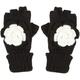 Crochet Flower Gloves