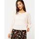 BILLABONG Chill Out Cream Womens Sweater