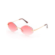 Meego Rose Oval Sunglasses