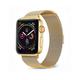POSH TECH 42mm Stainless Steel Gold Apple Watch Wristband