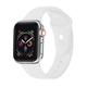 POSH TECH 38mm Silicone Sport White Apple Watch Wristband