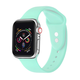 POSH TECH 42mm Silicone Sport Mint Apple Watch Wristband